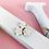 Thumbnail: Wooden Floral Mint Freestanding Letter