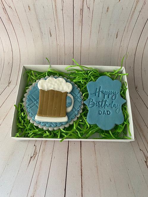 Cheers for Beers Biscuit Set