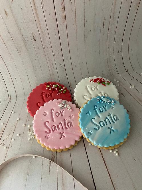 For Santa Cookies