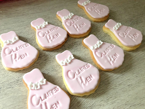 Hen Do Dress Biscuits