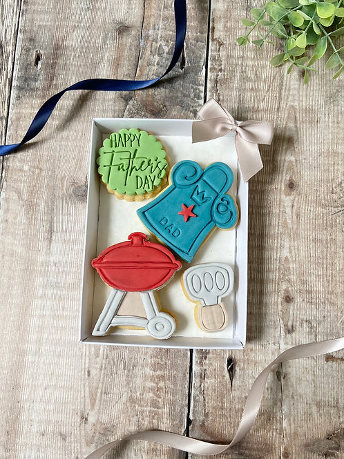 BBQ Time Biscuit Gift Set