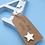 Thumbnail: Wooden Baby Blue Freestanding Letter