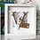 Thumbnail: Floral Initial Personalised Frame