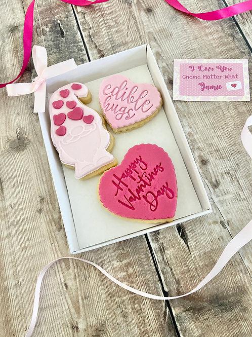 Gonk Love Biscuit Set