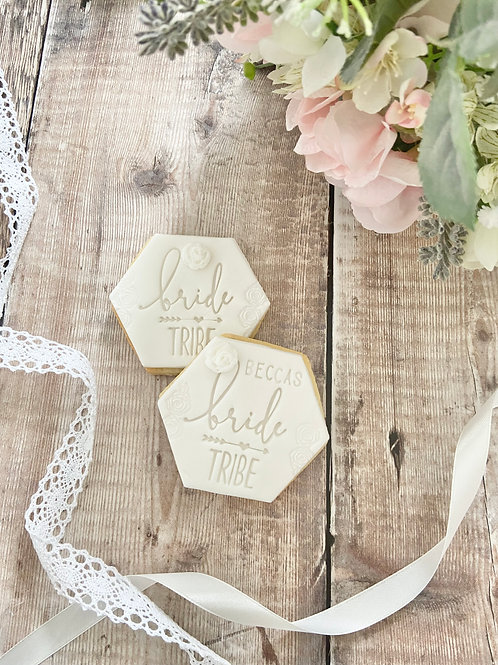 Bride Tribe Biscuit Favours