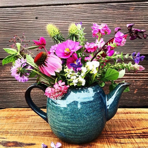 Wild Whimsy in a Teapot