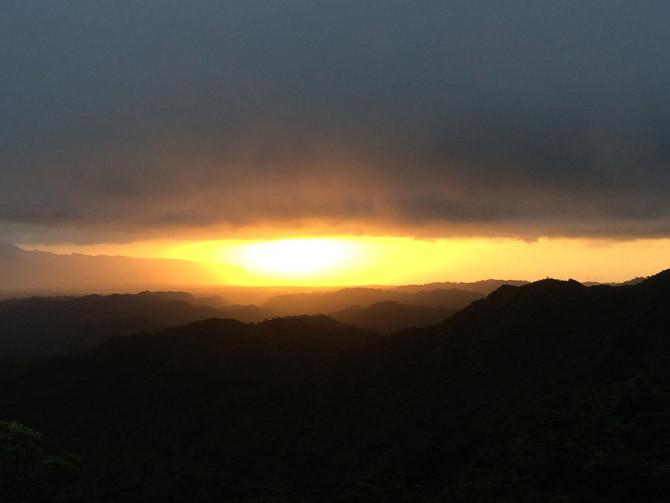 Ko'olau Summit Sunset