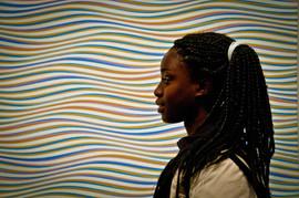 Abby au musée