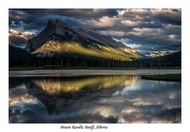 Alberta Banff Mount Rundle