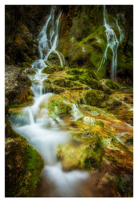 Vercors Cascade Verte