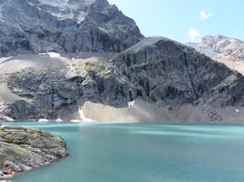 Eychauda lac de glacier