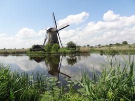 Pays-Bas Moulin de Kinderdijk