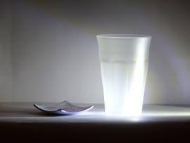 Verre Opacité luminescente