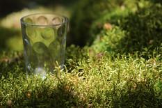 Vert dans le verre