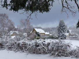 Neige à Gourdon-Murat