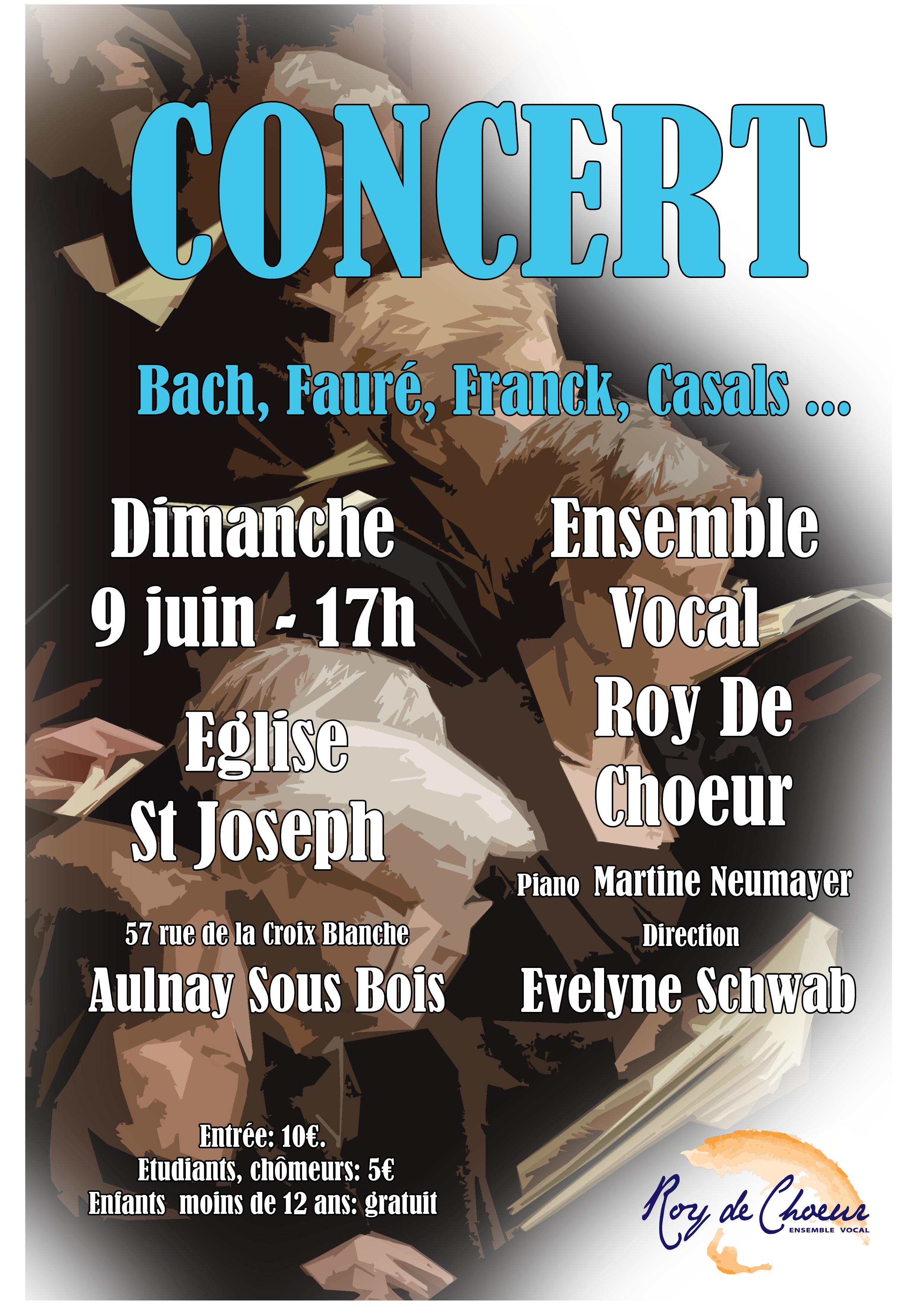 Concert à Aulnay-Sous-Bois