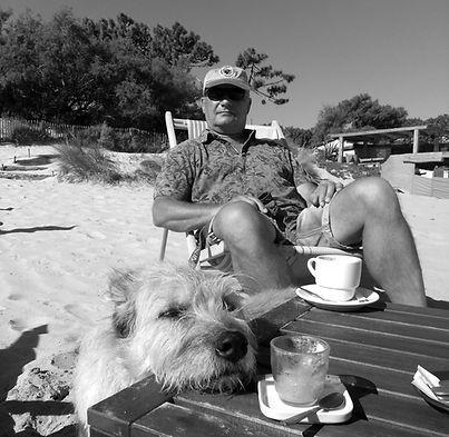 Klaus Pause mit Stella