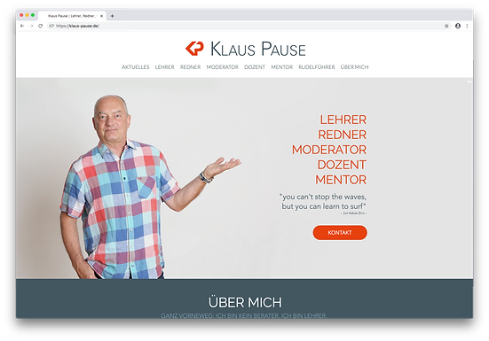 Klaus Pause Website