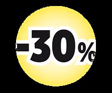 -30 % Logo