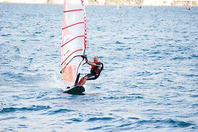 Windsurfen Klaus Pause