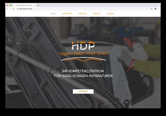 Hagel- und Dellen Profi GmbH Website