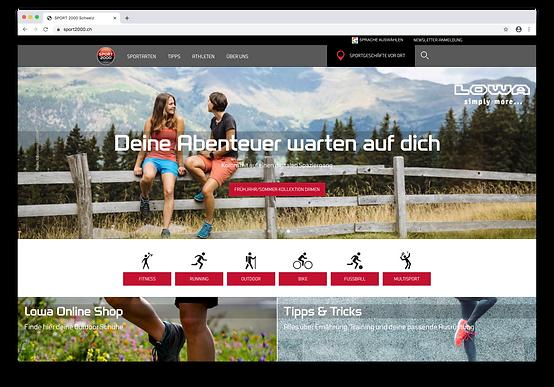 Sport 2000 Website