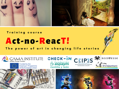 Vino la Training Course-ul Erasmus+ organizat de Institutul de Psihologie GAMMA!