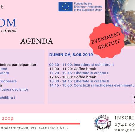 FREEDOM - Agenda evenimentului