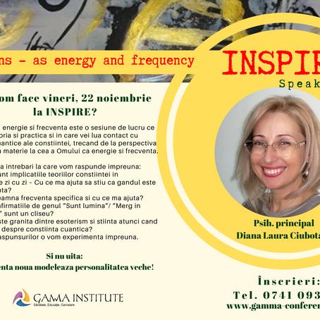 Omul, ca energie si frecventa - iata sesiunile zilei de vineri la INSPIRE 2019