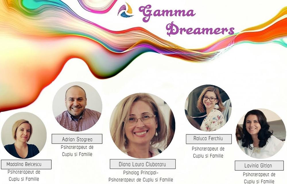 ECHIPA  GAMMA INSTITUTE CE SUSTINE EVENIMENTUL DREAMERS 2018