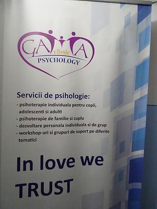 Intrarea in Clinica de psihologie Gamma