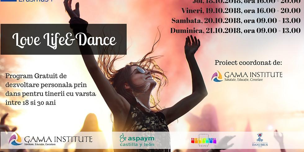 GAMMA Dance - dezvoltare personala prin dans-terapie