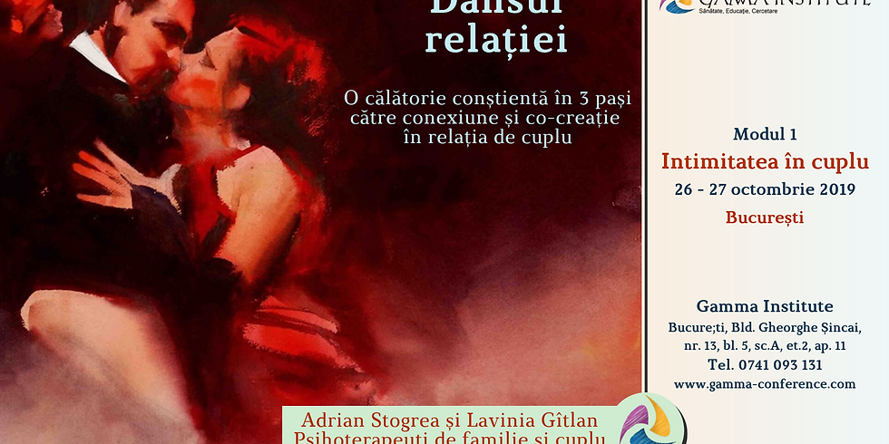 Dansul relatiei: Modul 1 - Intimitatea in cuplu (Bucuresti)