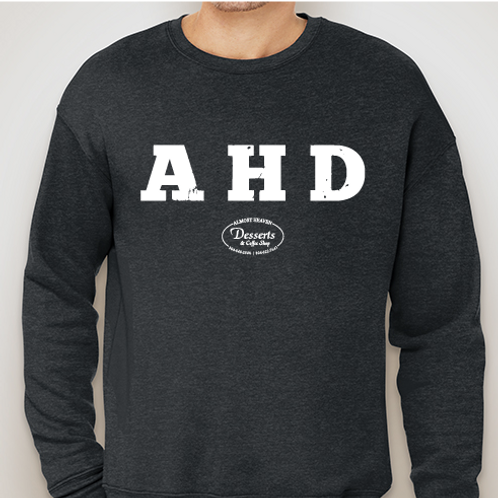AHD Crewneck Dark Grey