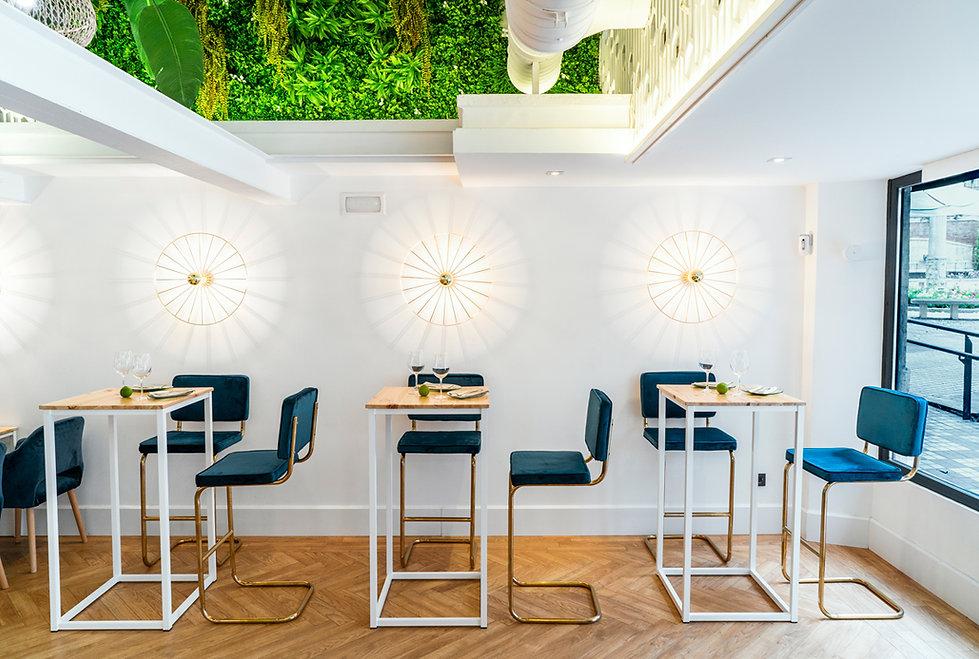 Consentido Estudio, El Uno, restaurante, decoración, interiorismo, Jaén