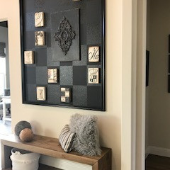 Creating a Unique Feature Wall