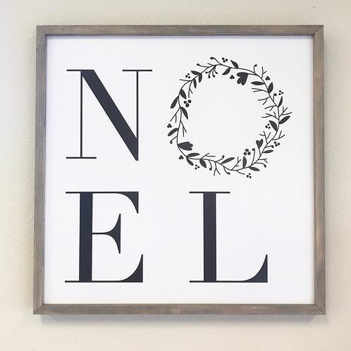 Noel sign, neutral