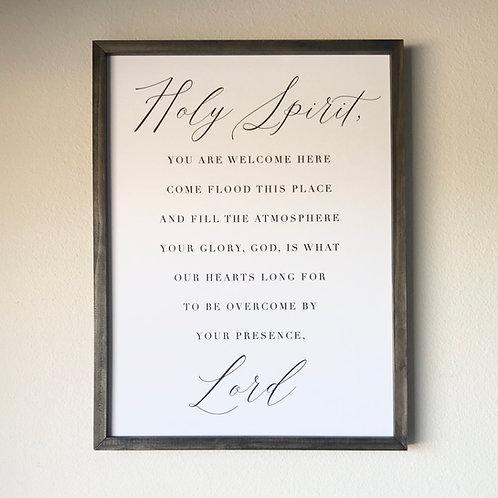 Holy Spirit Sign