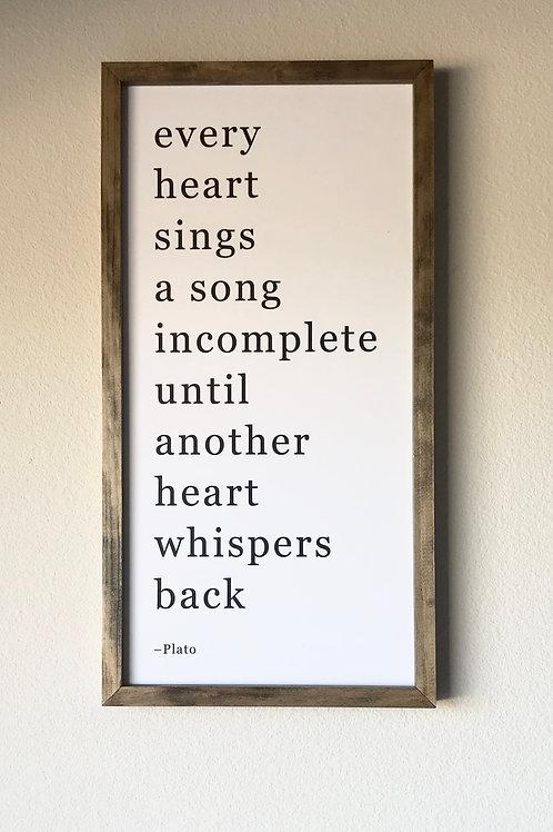 Plato Sign