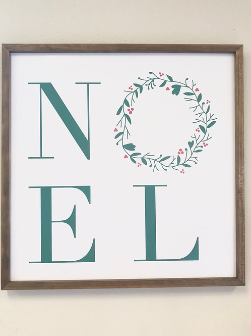 Noel sign, color