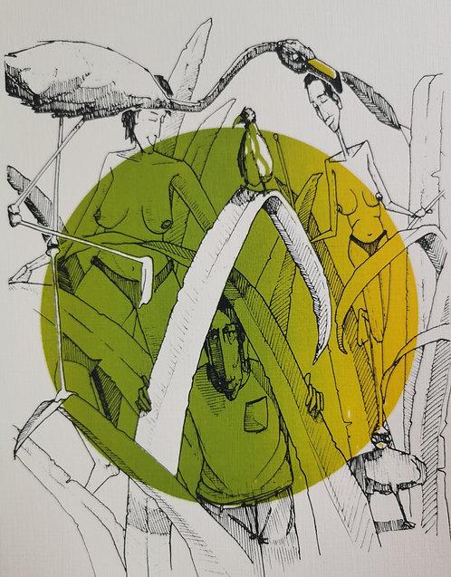Jungle Dingue - Sérigraphie
