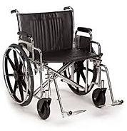 Extra breiter Rollstuhl