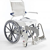Shower chair big wheels