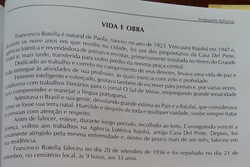 FRANCESCO ROTELLA - VIDA
