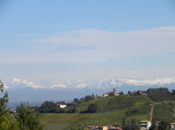 Alpes da janela.