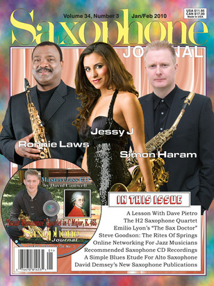 Saxophone Journal Magazine