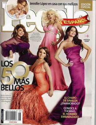 """People en Espanol """"Los 50 Mas Bellos"""""""
