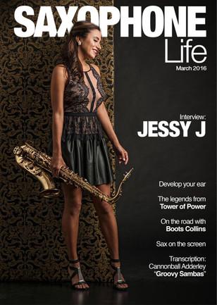 Saxophone Life Magazine Cover