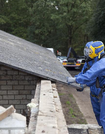 Ta bort Asbest Roofing
