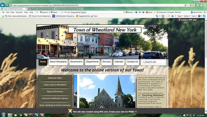 Affordable small town, village, municipal government websites